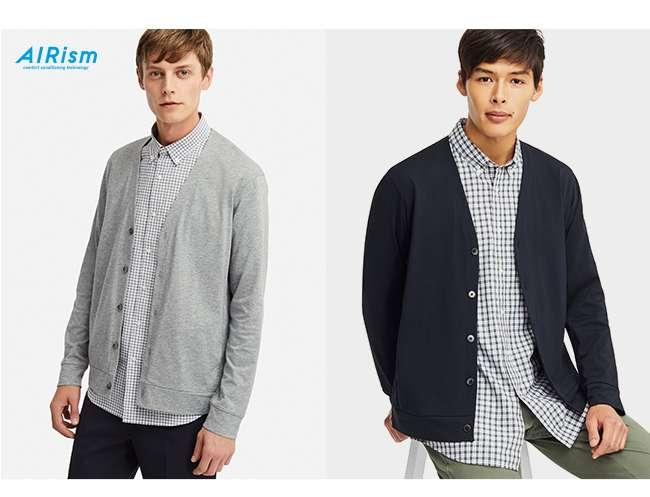 Shop Men's AIRism UV Cut Cardigan