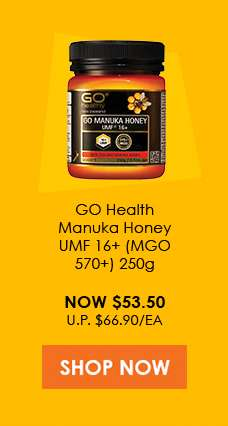 GO Healthy GO Manuka Honey UMF 16+ (MgO 570+) 250gm