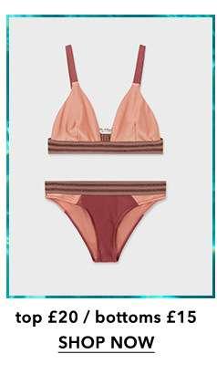 Mauve Luxe Bikini Set