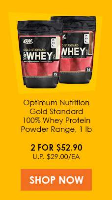 Optimum Nutrition gold Standard 100% Whey Protein Powder 1lb