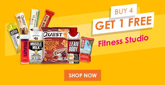 Fitness Studio Buy 4 Get 1 Free