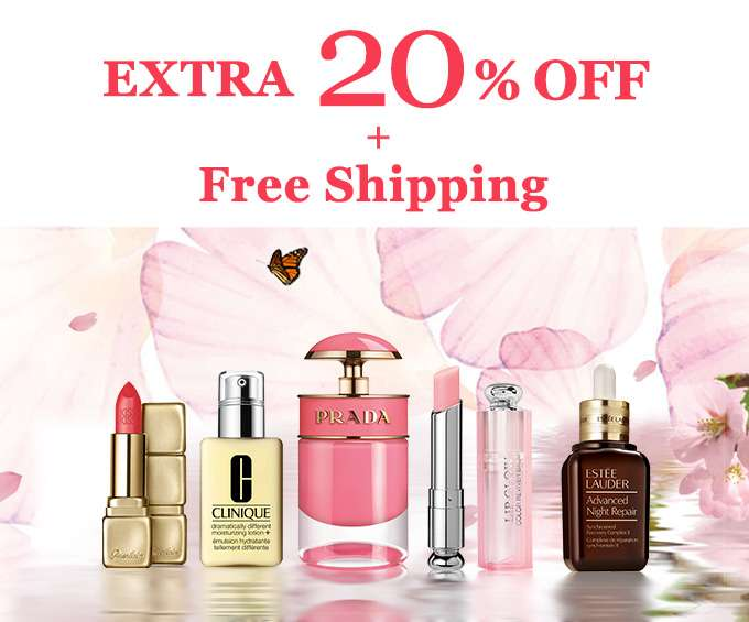 Get Extra 20% Off + Free Int'l Shipping! Offer Ends 24 Feb 2019