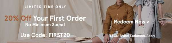 Limited Time Only: 20% Off Your First Order with code FIRST20 (no min spend). Redeem Now