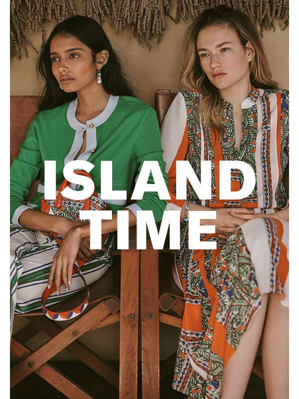 Tory Burch puts a vacation-ready spin on the classics.