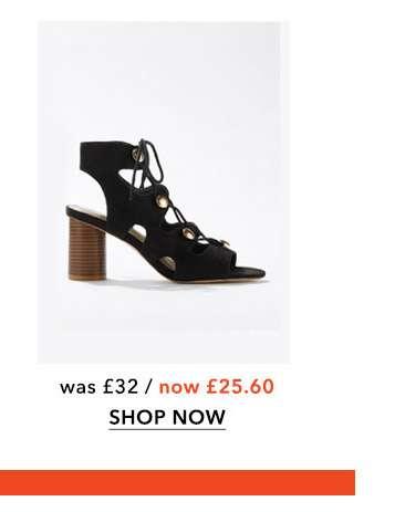 SKYLAR Black Gladiator Sandals