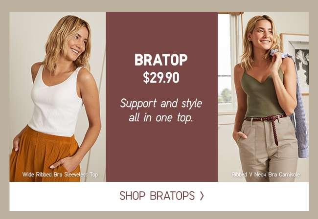 Shop Women's BRATOP at $29.90
