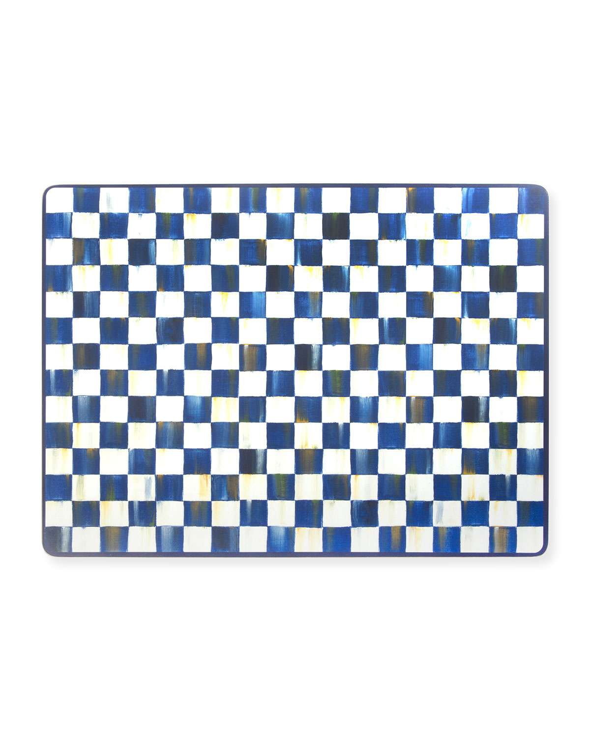 Royal Check Cork Back Placemats, Set of 4