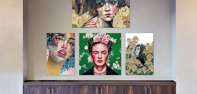 Build a Portrait Gallery