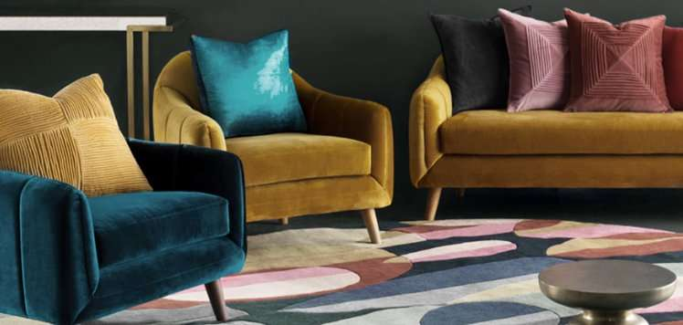 Pillows & Rugs With Surya