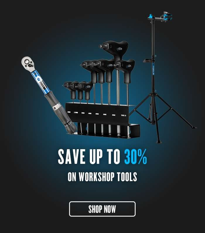 Save up to 30% on Workshop Tools