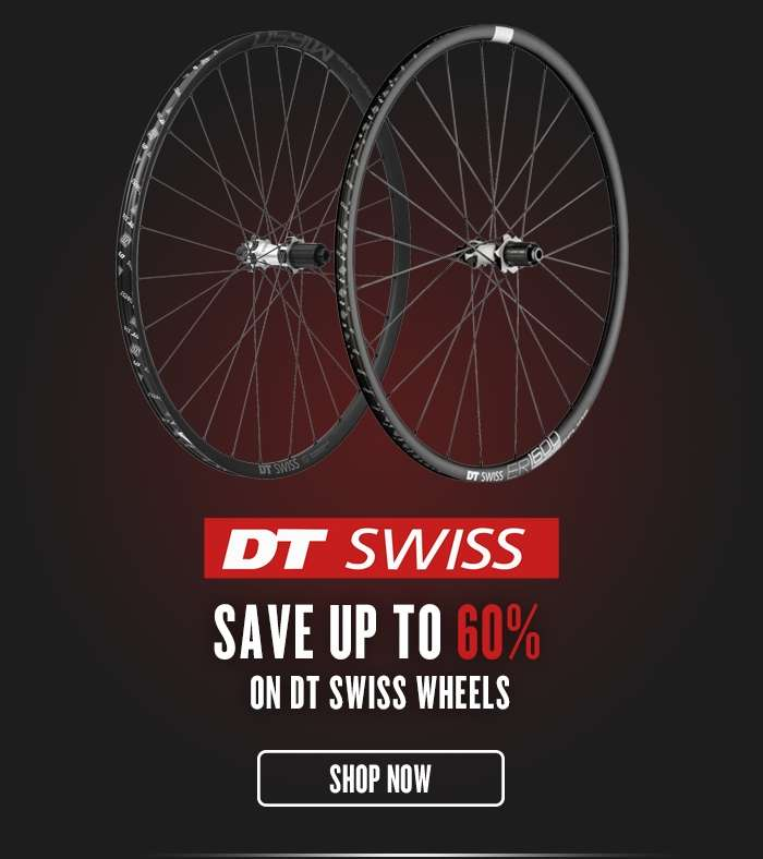 Save up to 60% on DT Swiss Wheels