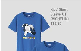 Michelin Matching Set | Kids' Short Sleeve UT at $12.90