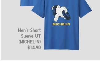 Michelin Matching Set | Men's Short Sleeve UT at $14.90
