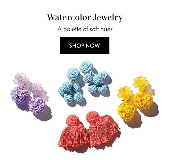 Shop Watercolor Jewelry