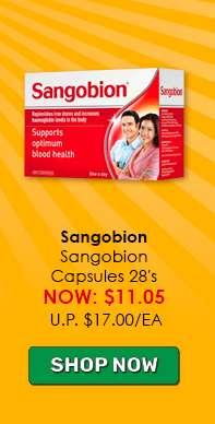 Sangobion Capsules 28's