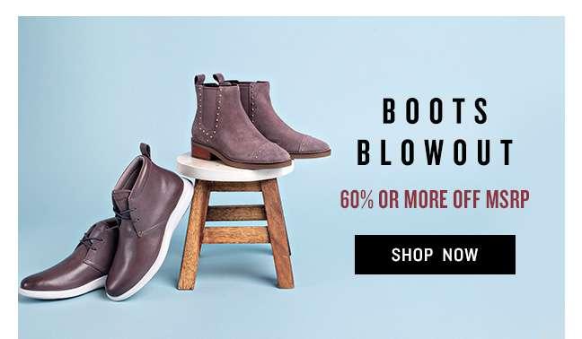 Shop Boots Blowout