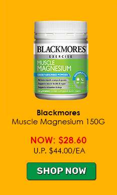 Blackmores Muscle Magnesium 150G