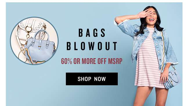 Shop Handbags Blowout