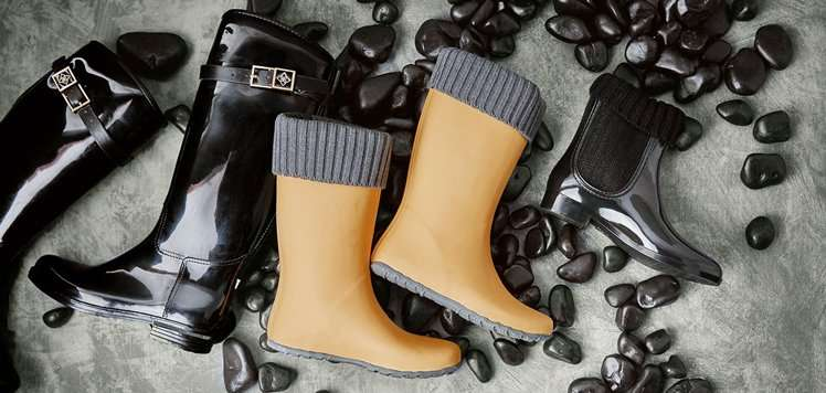 Rainy-Day Shoes & Accessories