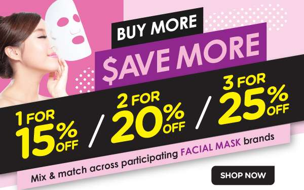Facial Mask promotion