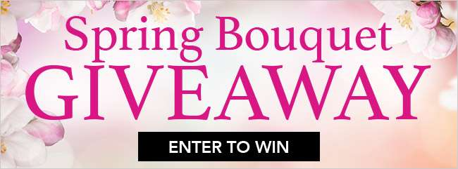 Spring Bouquet Giveaway. Enter to Win.