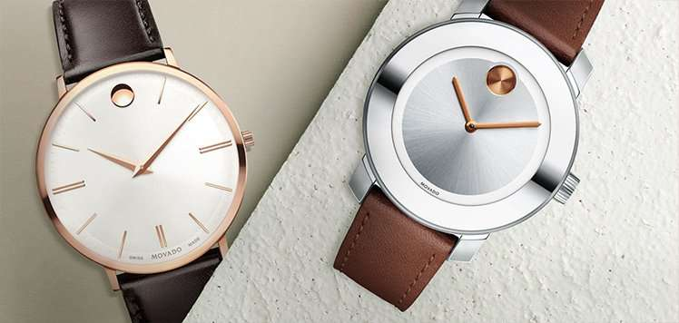 Sleek Women's Watches With Movado
