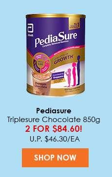 Pediasure Triplesure Chocolate 850g (Baby Land Deal)