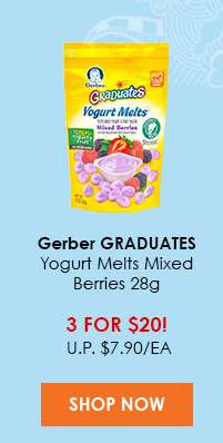 Gerber GERBER® GRADUATES® Yogurt Melts® Mixed Berries 28g (Baby Land Deal)