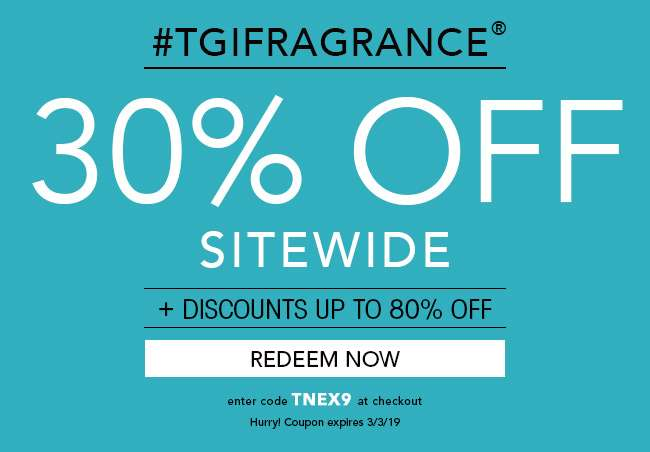 30% OFF Sitewide. Redeem Now. Use Code TNEX9 at checkout. Expires 3/3/19