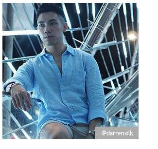 @darren.clk's look in Premium Linen Shirt