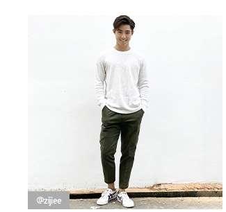 @zijiee's look in Premium Linen Shirt