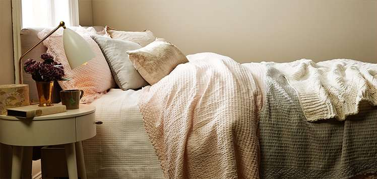 Textured Bedding & More