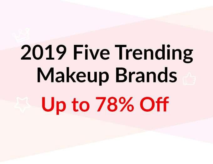 5 Trending Makeup Brands Up to 78% Off!