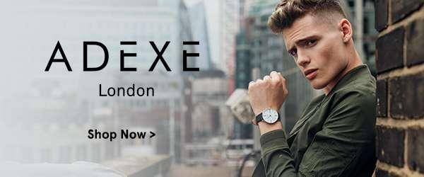 New on ZALORA: Adexe Watches