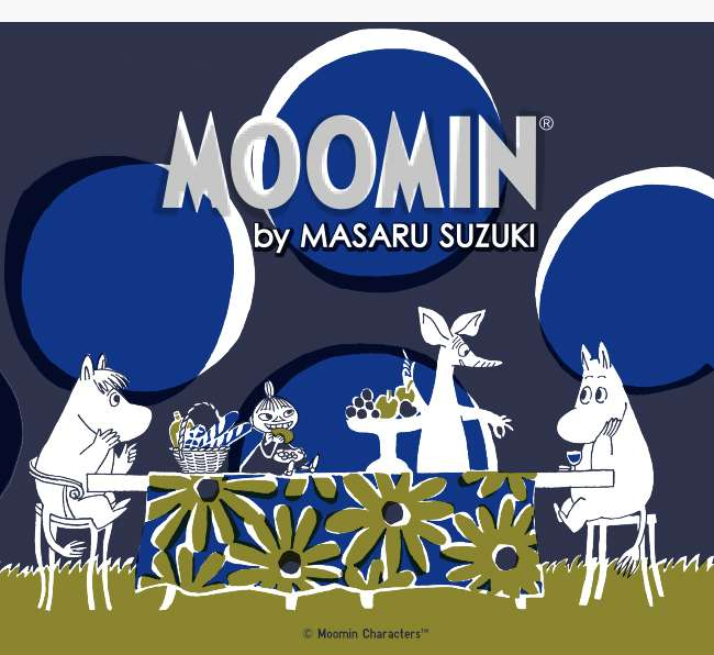 Moomin by Masaru Suzuki UT Collection