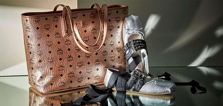 Pack a Punch With Metallic Luxe