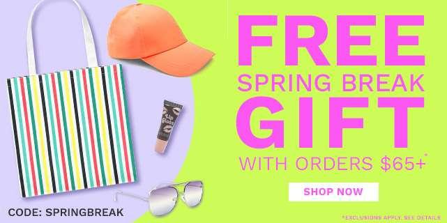 Free Spring Break Gift