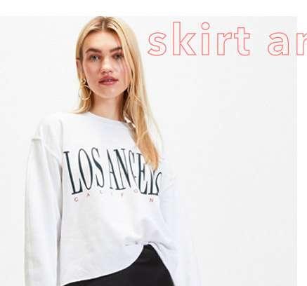 White 'Los Angeles' Sweatshirt