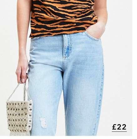 Brown Zebra Print Cowl Camisole Top