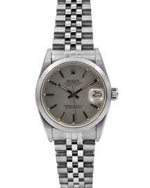Rolex Pre-Owned 31mm Datejust Jubilee Automatic Bracelet Watch - White DIal