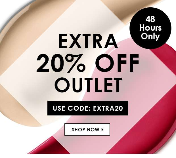 Extra 20% Off Outlet   Use Code: EXTRA20