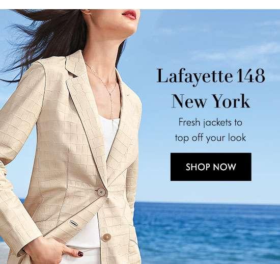 Shop Lafayette 148 New York Jackets