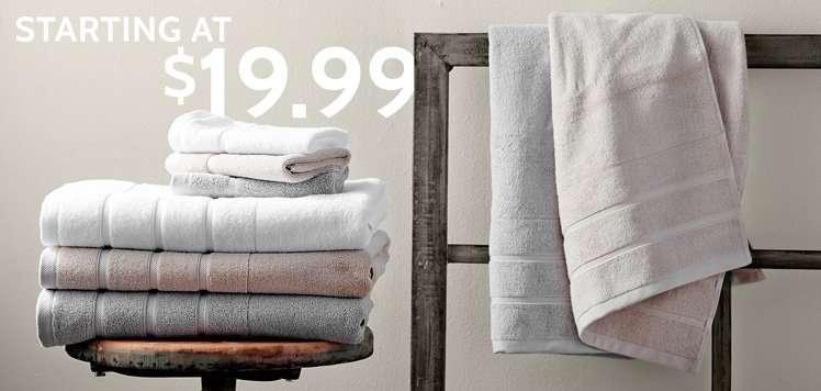 Bath Towels & Sets
