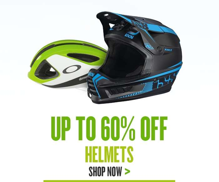 Up to 50% Off Helmets