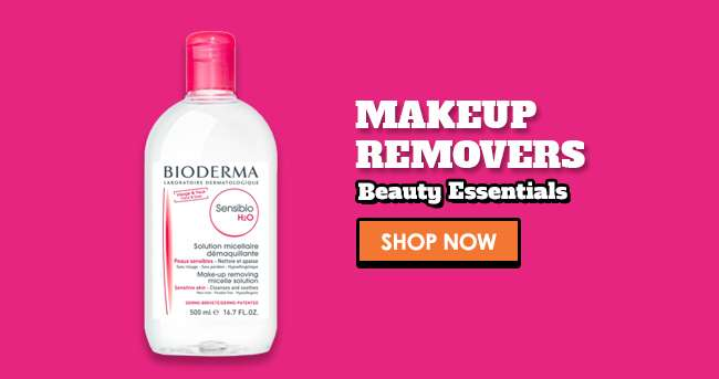 Shop 30% off all Makeup Removers
