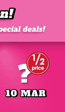 More Daily Deals coming soon