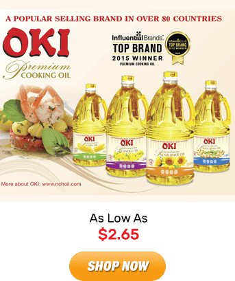 Oki Oil: As Low As $2.65. Shop Now!