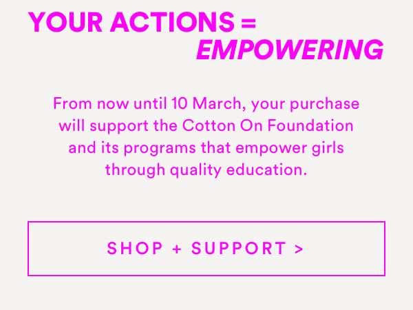 INTERNATIONAL WOMEN'S DAY | SHOP & SUPPORT
