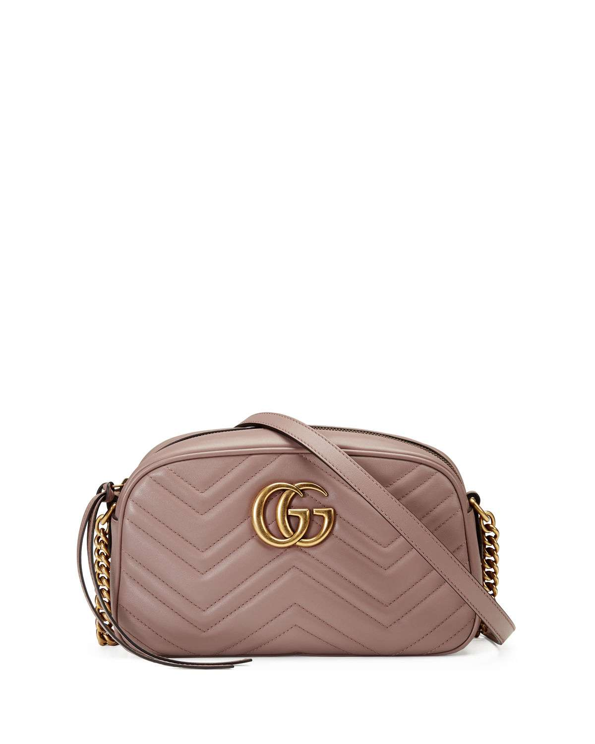 GG Marmont Small Quilted Camera Bag