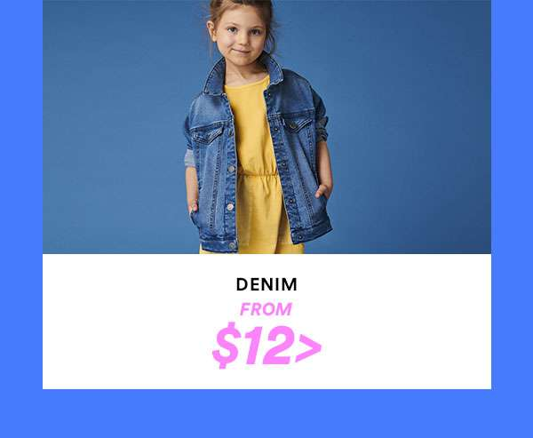 Kid's Denim | SHOP NOW